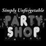 directory logos grayscale_simply unforgettable party shop